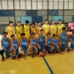 Juara I Basket Putra SMP Charitas di Higsope 2017