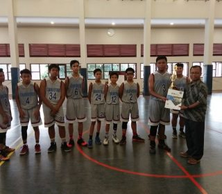 juara 1 Lomba basket putra di PL