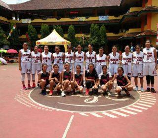 Juara 1 SMP Charitas Lomba basket di SMP 41, Sekolah Harapan Bangsa dan JIS