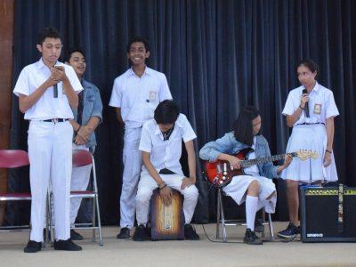 Musikalisasi SMA Charitas 30 Oktober 2017