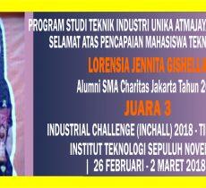 alumni Juara 3 Industrial Challenge