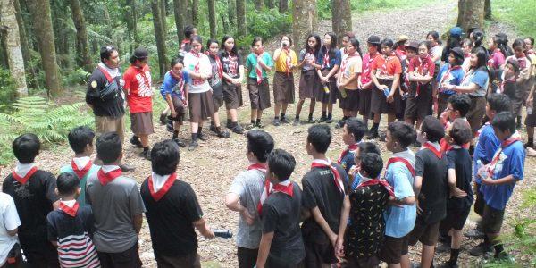 Camping Pramuka SMP Charitas 3-4 Mei 2018